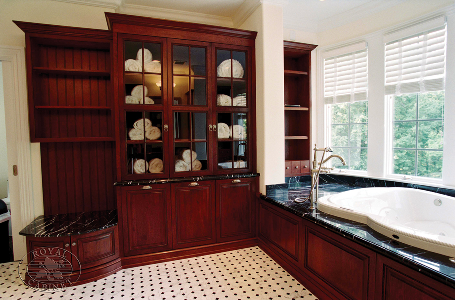 Platinum Designs LLC Custom Bathroom Cabinetry Master