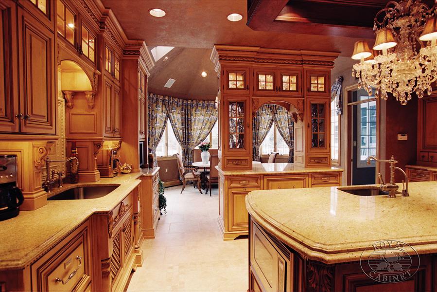 Custom Kitchens - Formal Kitchen - Platinum Designs, LLC ...